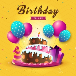 Bday Video Maker, Wishes,Cards