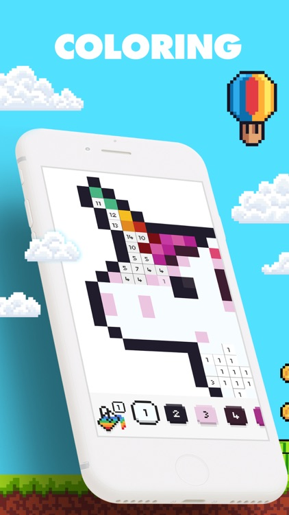 UNICORN - Color by Number Game screenshot-0