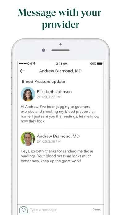 messages.download One Medical software