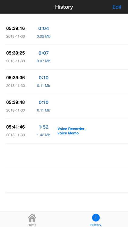 Voice Recorder , voice memo screenshot-5