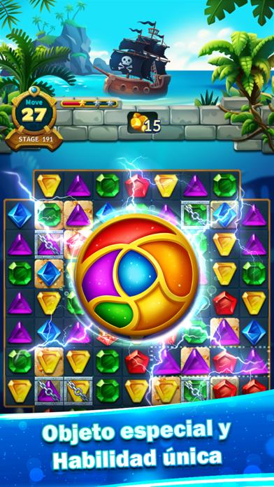Jewels Fantasy Legend - Match3Captura de pantalla de2