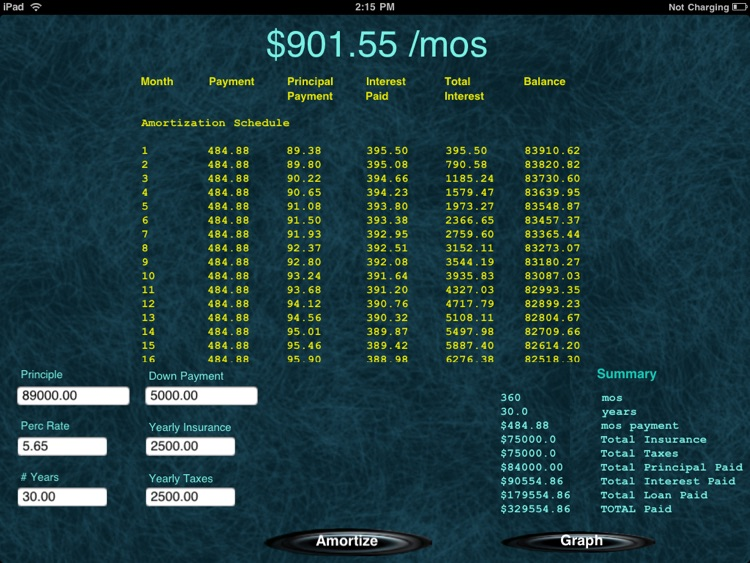 MyLoan HD screenshot-3