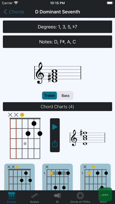 Tonality: Piano/Guitar Chords Screenshots