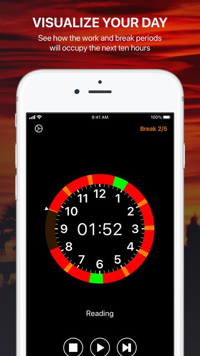 Pommie - Pomodoro Timer Screenshots