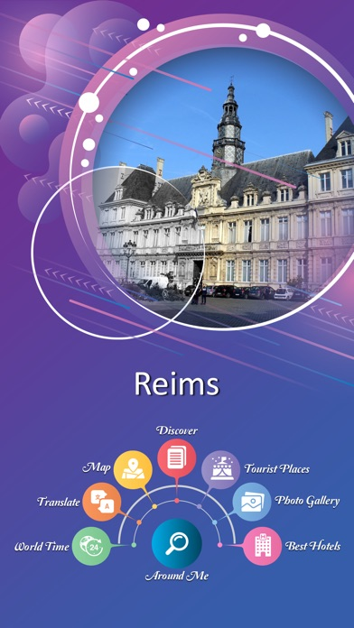 Reims Tourist Guide screenshot 2