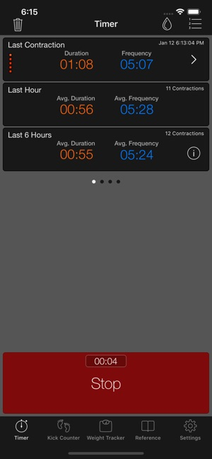 Full Term - Contraction Timer on the App Store