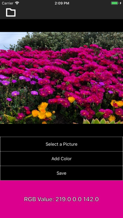 Screenshot for iDrop - Pick a Color! in United States App Store