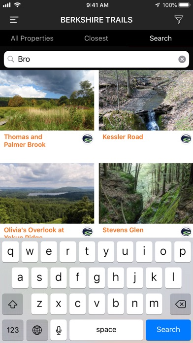 Screenshot for BNRC Berkshire Trails in United States App Store