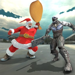 Crime City Santa Rope Hero