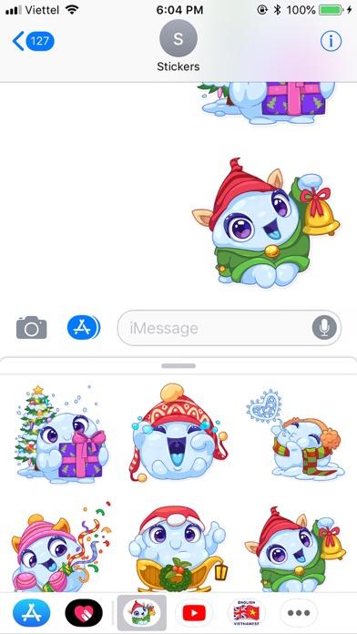 Christmas Snow - Xmas Sticker screenshot 2
