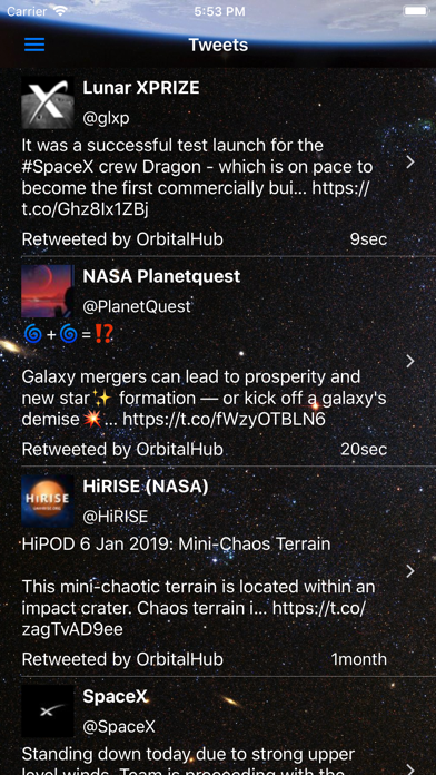 Orbital Hub screenshot four