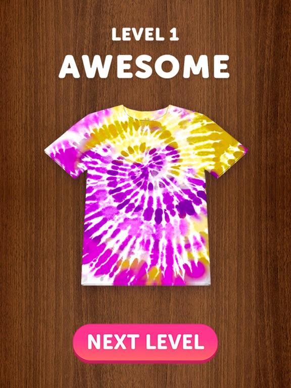Tie Dye iPad app afbeelding 3