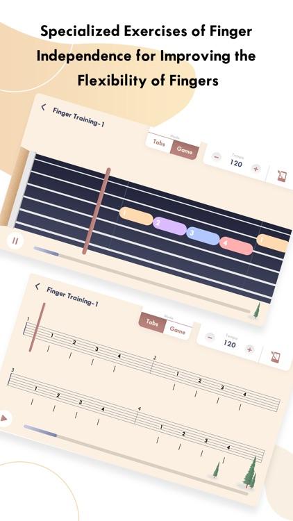 guitar tuner ,tabs - Gstring screenshot-5