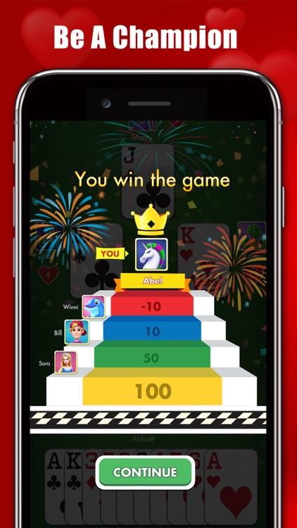 Hearts : Classic Card Games screenshot-4