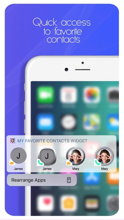 My Contacts Home Screen Widget screenshot-5