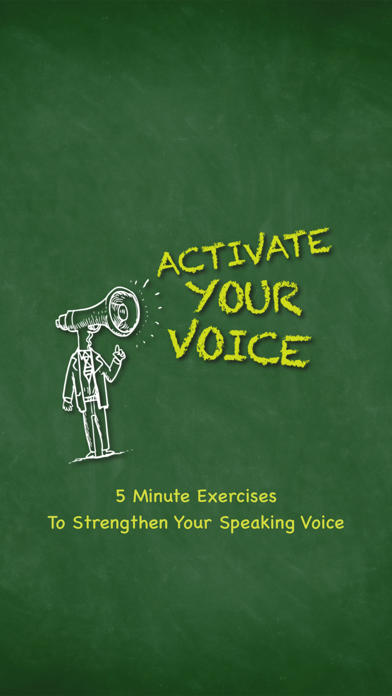 Activate Your Voice screenshot one