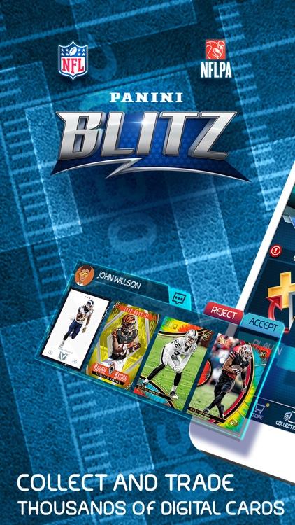 NFL Blitz - Trading Card Games screenshot-0