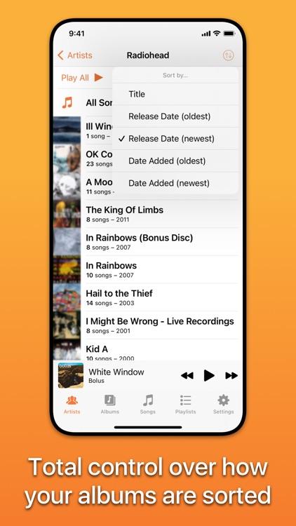 Picky Music Player screenshot-5