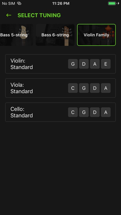 GuitarTunio - Guitar Tuner screenshot-5