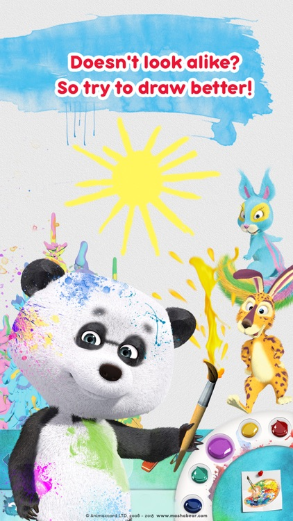 Masha and the Bear: Art Games