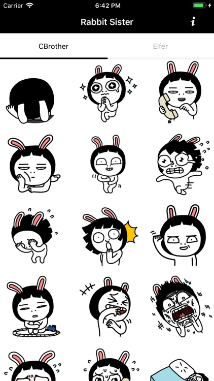 Rabbit Sister Stickers