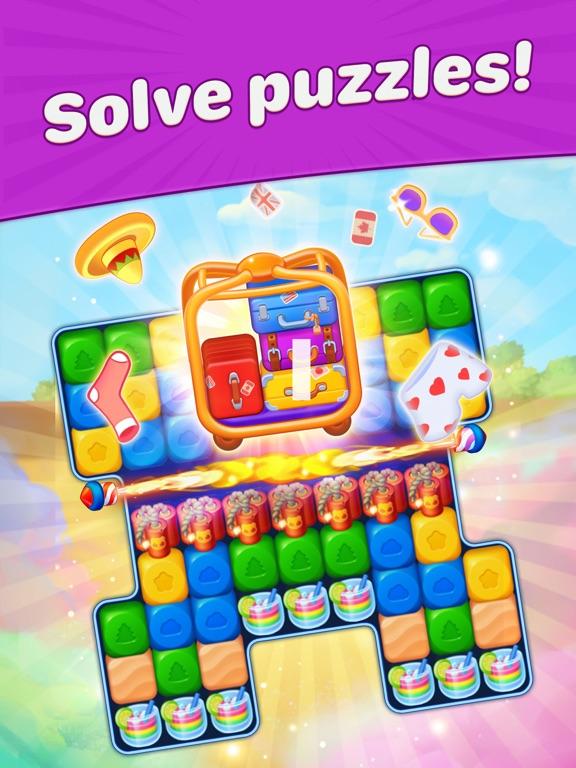 Travel Blast: Puzzle Adventureのおすすめ画像4