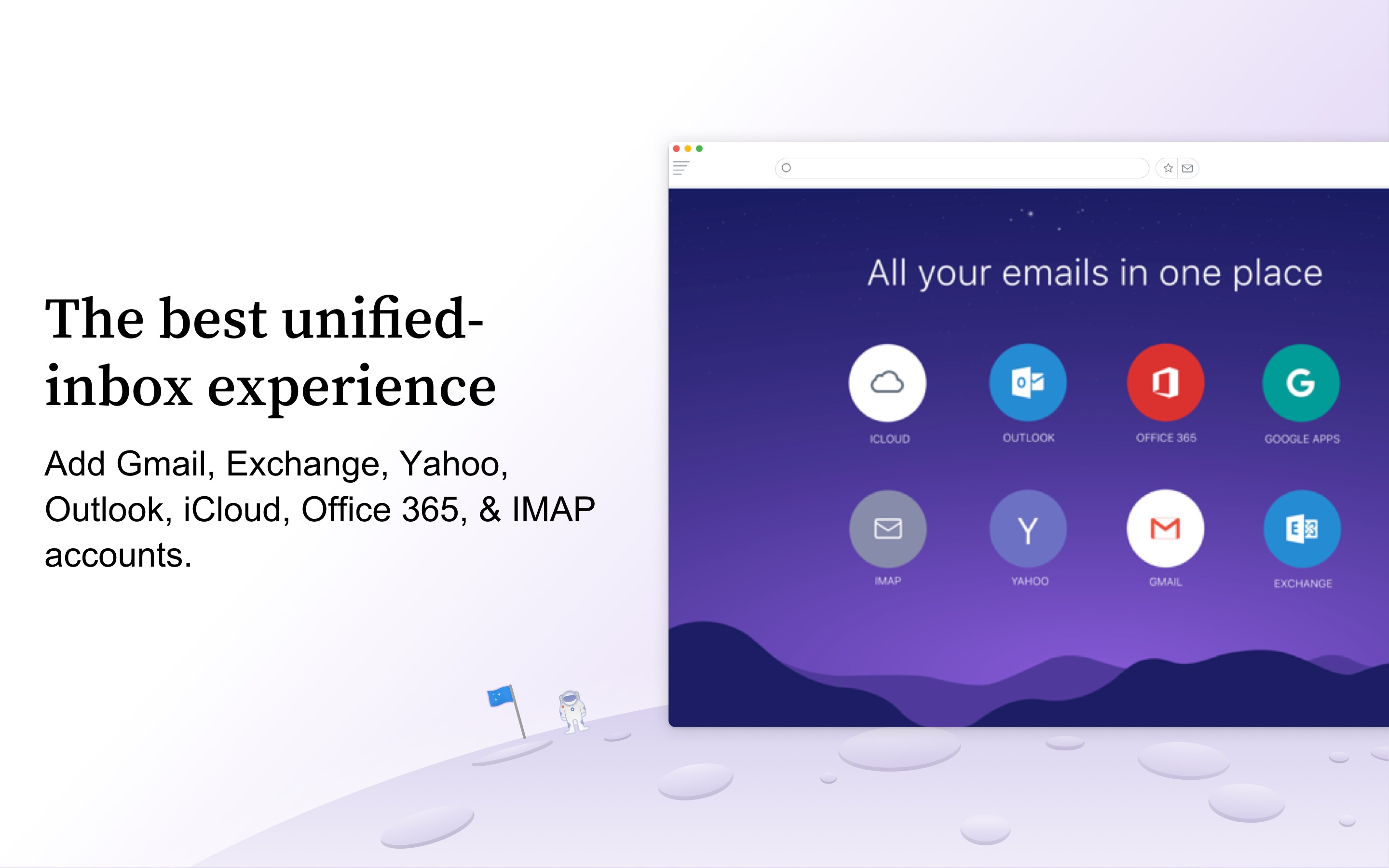 Screenshot do app Newton - Supercharged emailing