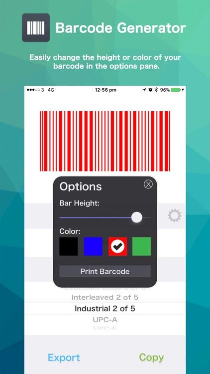 Barcode Generator / Creator screenshot-3