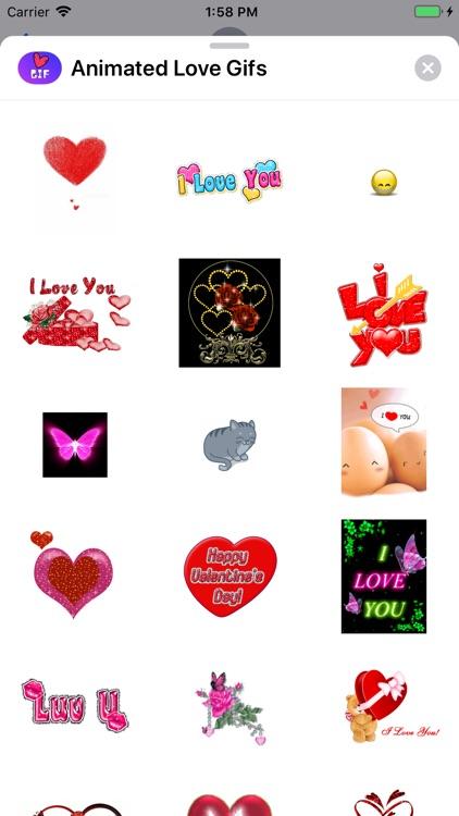 Animated Love Gifs screenshot-5