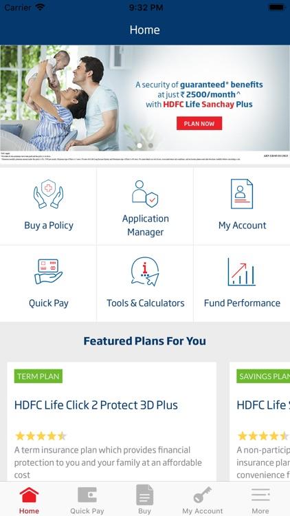 HDFC Life Insurance App