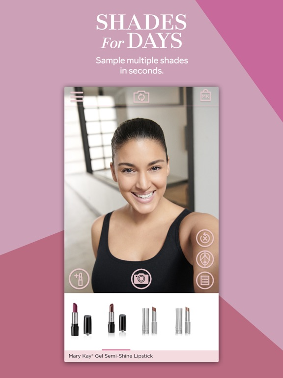 Mary Kay® MirrorMe-ipad-2