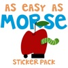 As Easy As Morse Stickers Pack Reviews