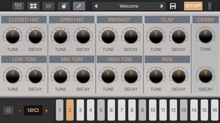 LE04: AR-909 Drum Machine screenshot-5