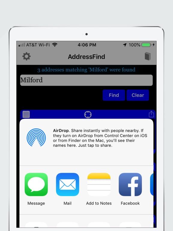 AddressFind Screenshots