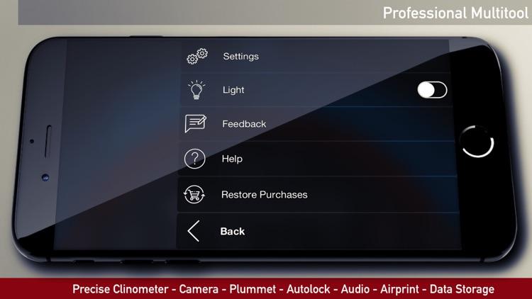 iLevel - Protractor & Level screenshot-7
