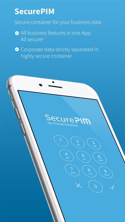 SecurePIM screenshot-0