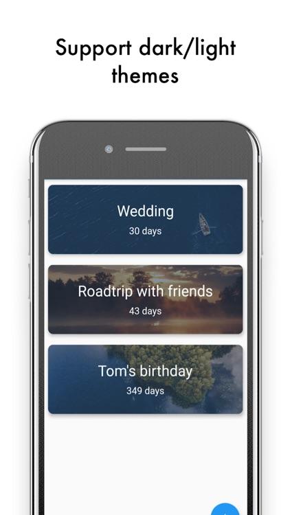 Days until - countdown app screenshot-3