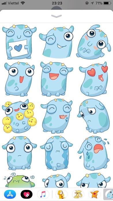 Emoji Cute Pun Funny Stickers screenshot 1