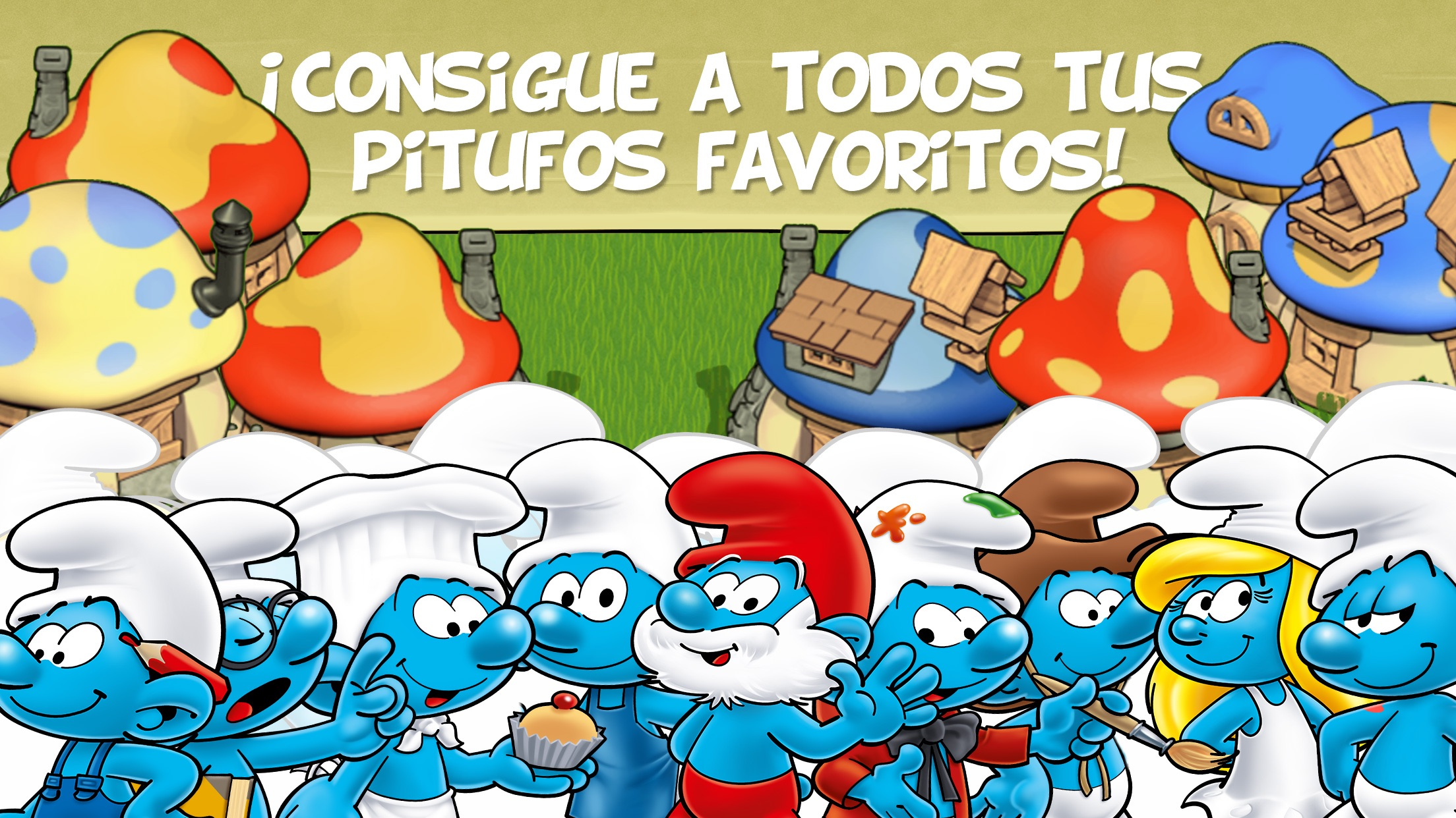 Smurfs and the Magical Meadow Screenshot