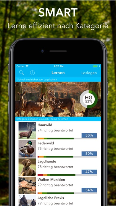 Screenshot for Heintges Jagdtrainer in Germany App Store