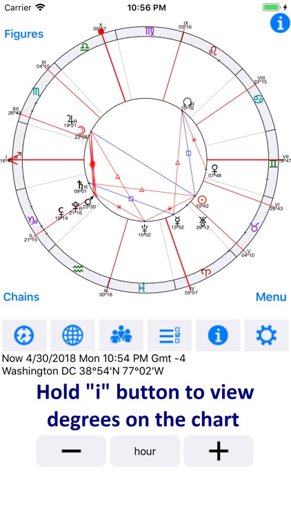 Astrological Charts Lite screenshot-2