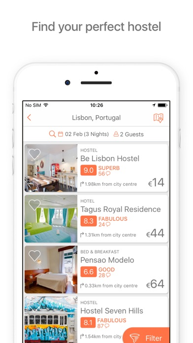Download Hostelworld: Hostel Travel App for Pc