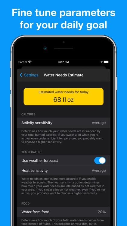 Thirstic: Smart Water Tracker screenshot-3