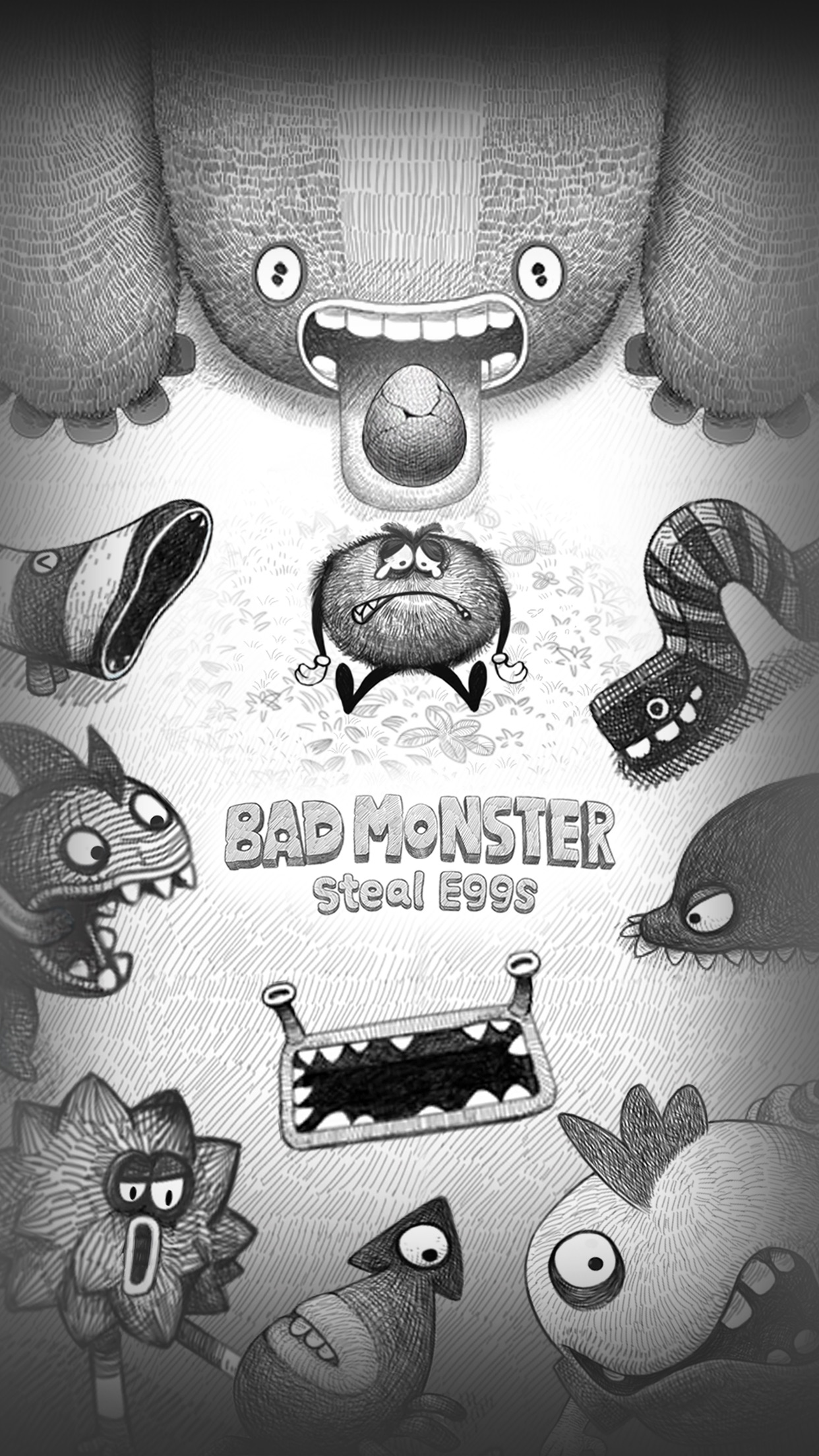 Screenshot do app Bad Hungry Monster