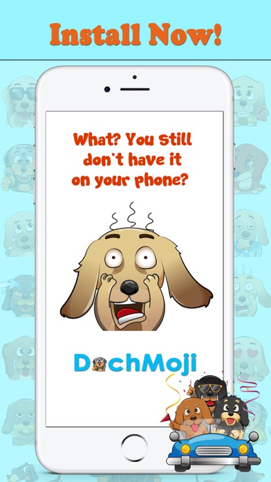 DachMoji: Sausage Dog Stickersのおすすめ画像5