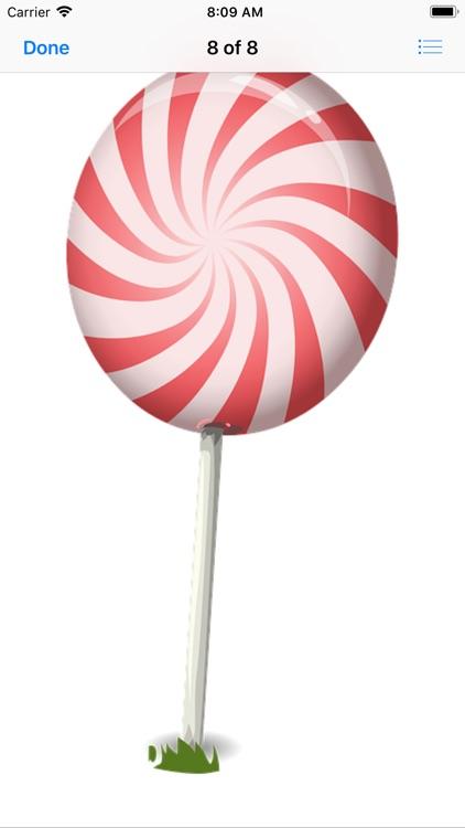 Sweet Lollipop Stickers screenshot-9