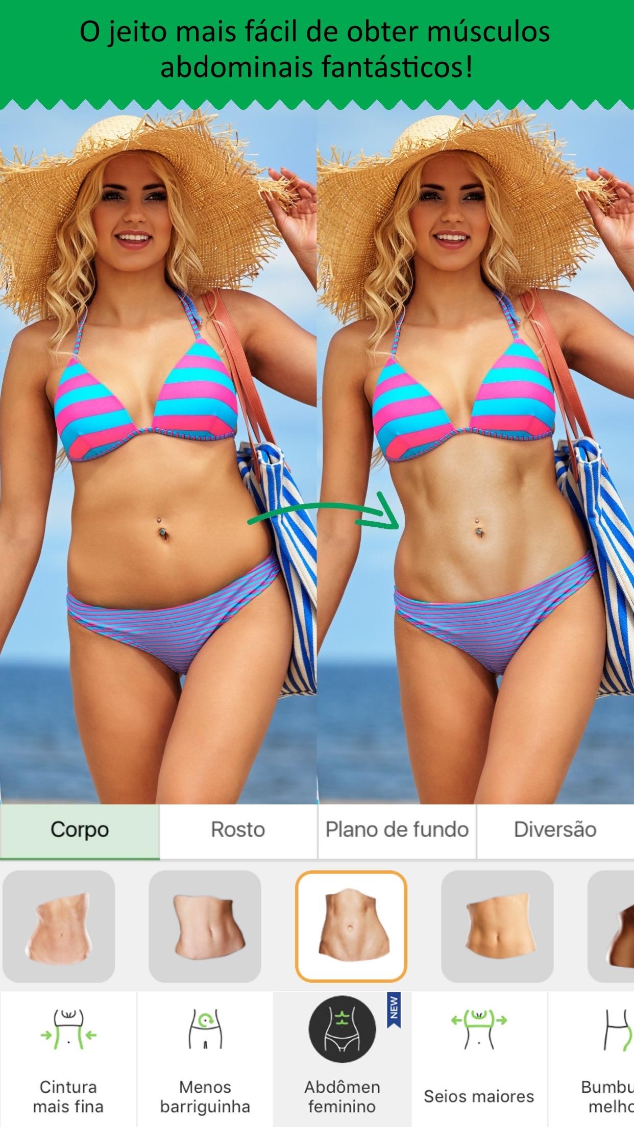 Screenshot do app Retocar Me: Editor de Fotos
