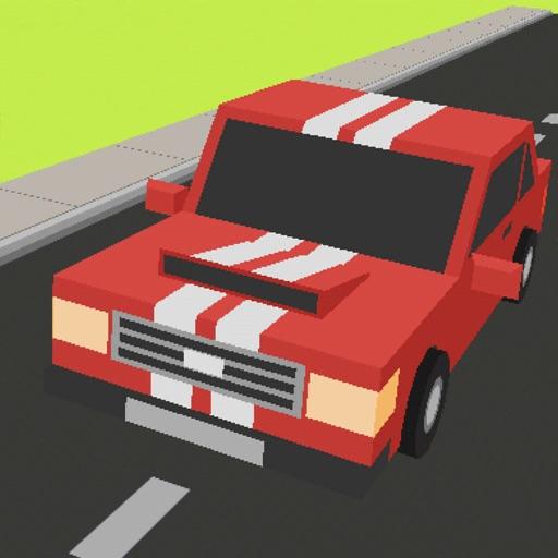 Pixel ZigZag Cars 3D