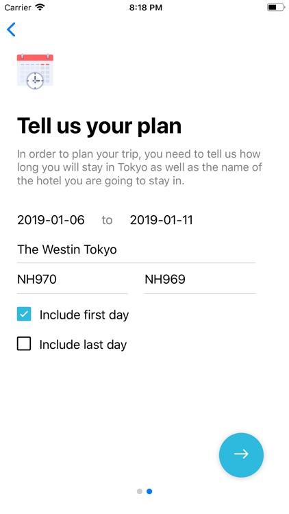 Tokyo Planner