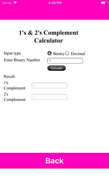 Digital Logic And Calculator screenshot-3